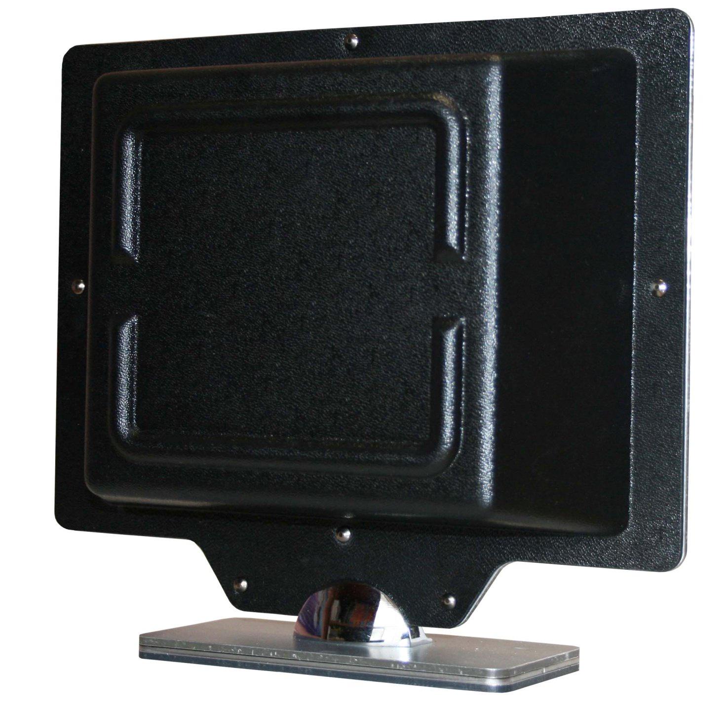 Комнатная телевизионная антенна Т-3310/ ДМВ, DVBT/T2, направленная активная цифровая, для отражённого и прямого сигнала, черная