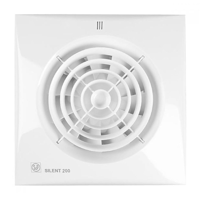 Вентилятор Soler&Palau Silent-200 CZ, белый