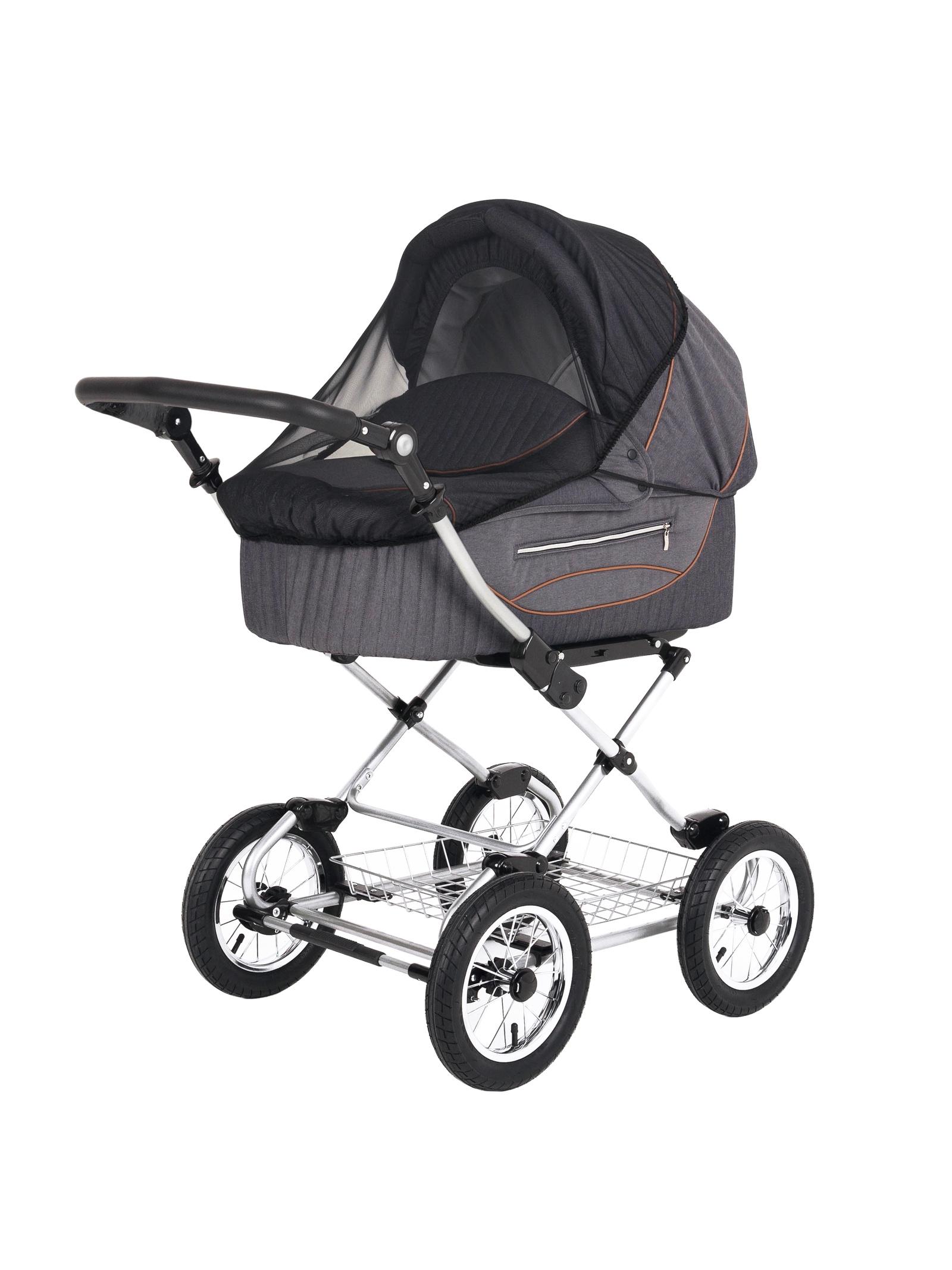 Аксессуар для колясок Trottola Москитная сетка на коляску люльку SUMMER NET CLASSIC черный москитная сетка baby care classic plus белая