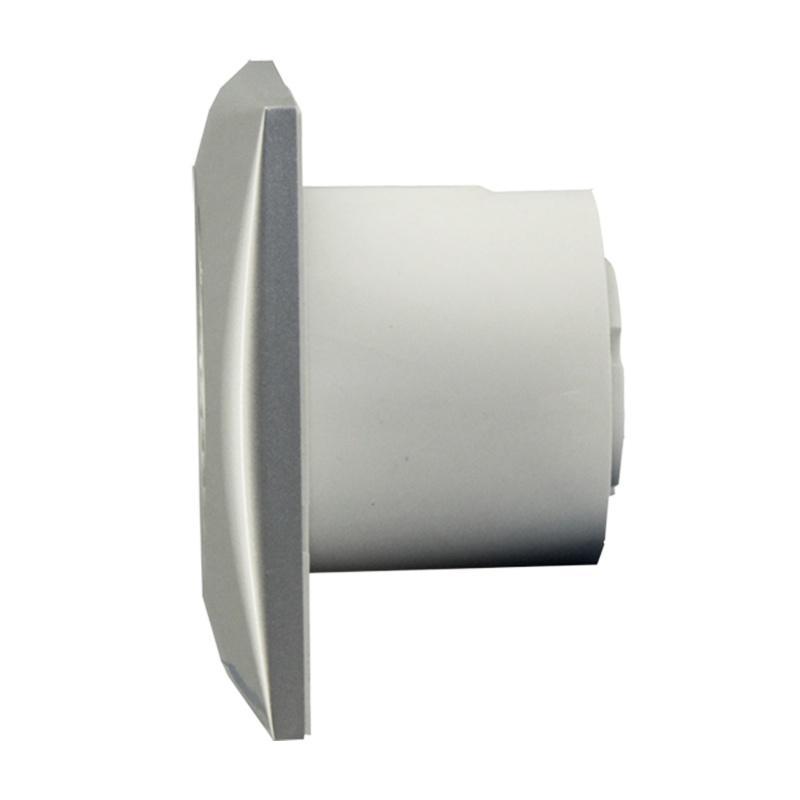 Вентилятор Soler&Palau вытяжной Silent-100 CZ Silver, серебристый клапан обратный ante