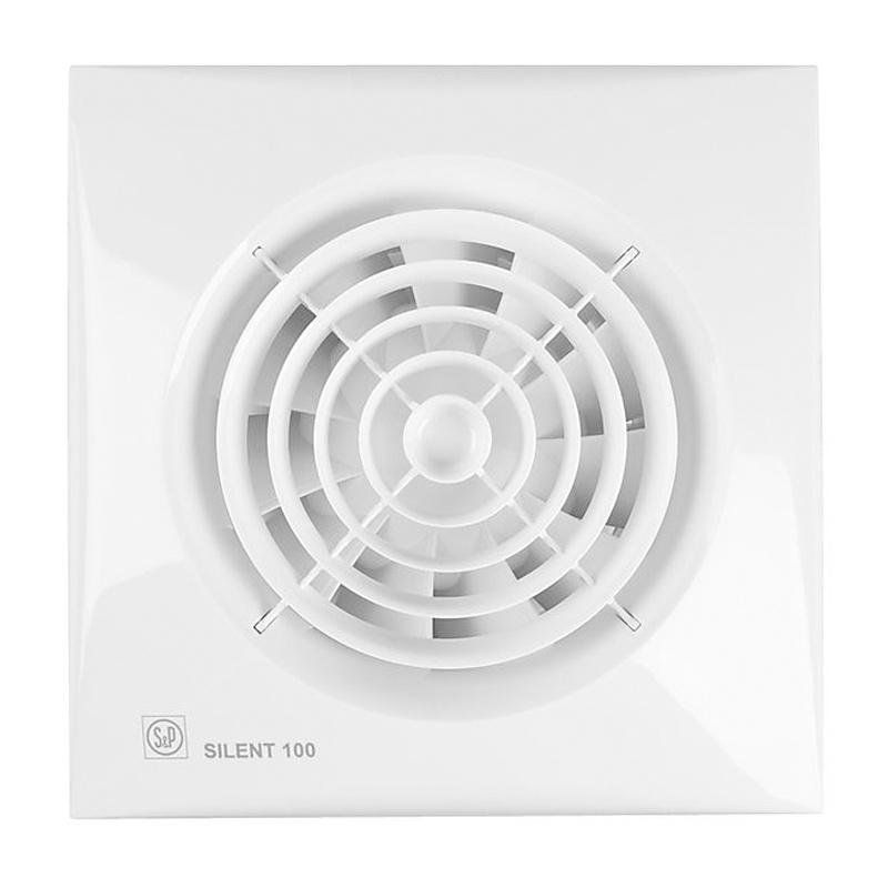 Вентилятор Soler&Palau Silent-100 CRZ, белый silent wire silent socket 38 mk2 6 sockets 1 5m
