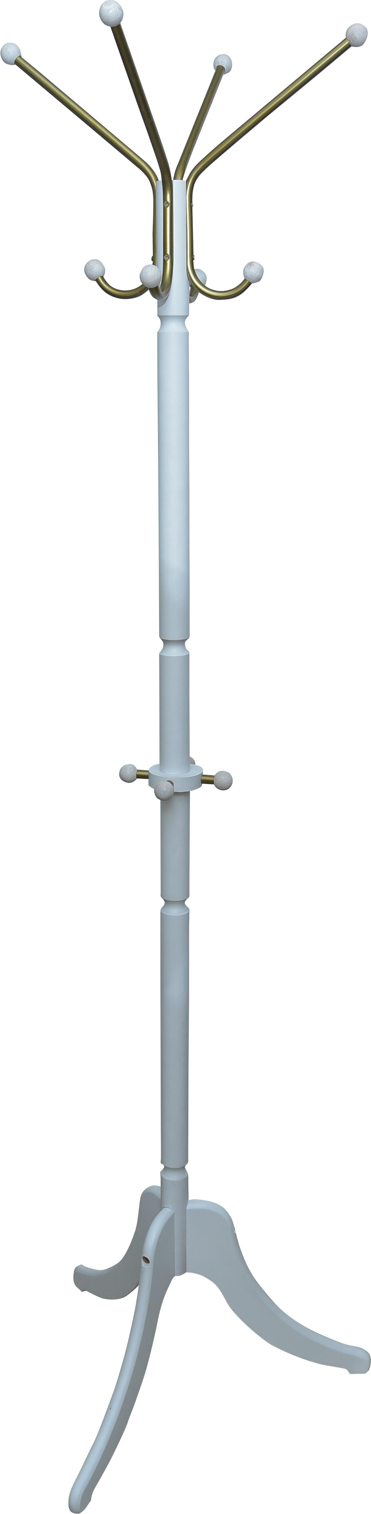 Вешалка напольная Прайм Модель 6, белый