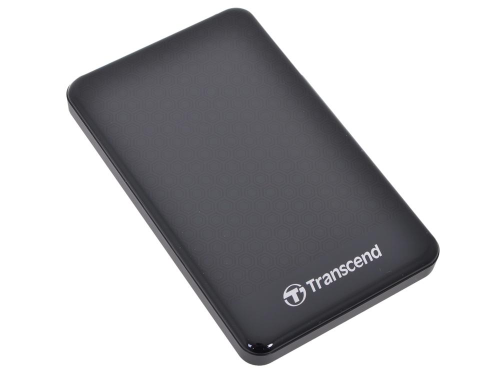 Портативный внешний жесткий диск Transcend HDD 2 TB А3 Anti-Shock , 2.5, USB 3.0, черный внешний жесткий диск transcend usb 3 0 2tb ts2tsj25h3b