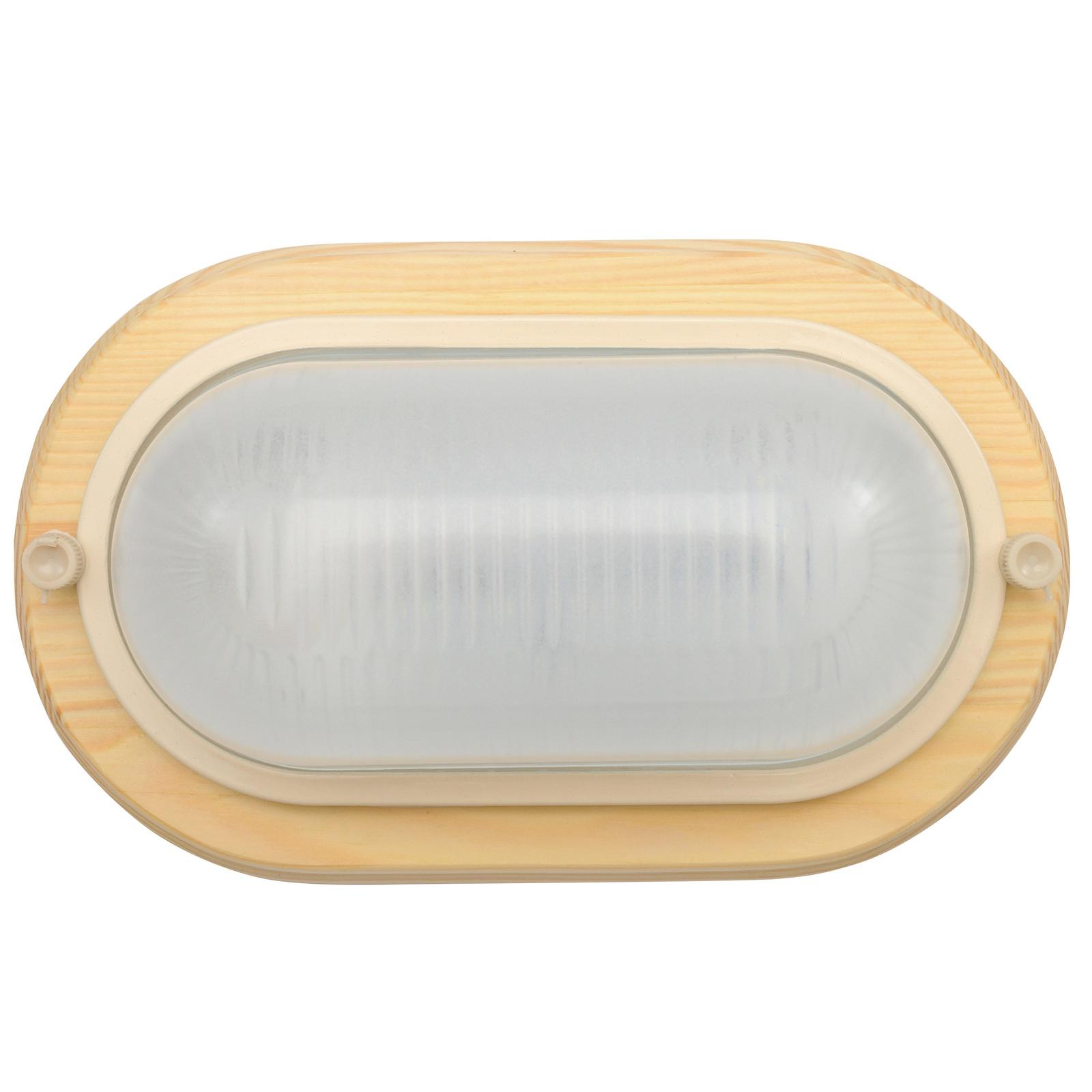 Настенно-потолочный светильник СВЕТ 04-6-011, светло-коричневыйДБО 04-6-011Светильник настенно-потолочный предназначен для общего освещения офисов, бытовых, общественных, производственных, промышленных помещений, а также лестничных площадок. Корпус светильника выполнен из дерева. Стеклянный рассеиватель равномерно распределяет свет по всему помещению. Светодиодный модуль мощностью 6 Вт отличается экономичностью и эффективностью. Форма – овал. Цвет – клён.