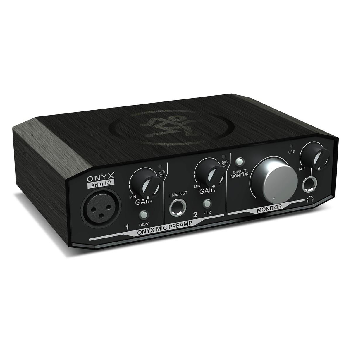 Аудиоинтерфейс Mackie Onyx Artist 1 - 2, черный mackie srm450v3
