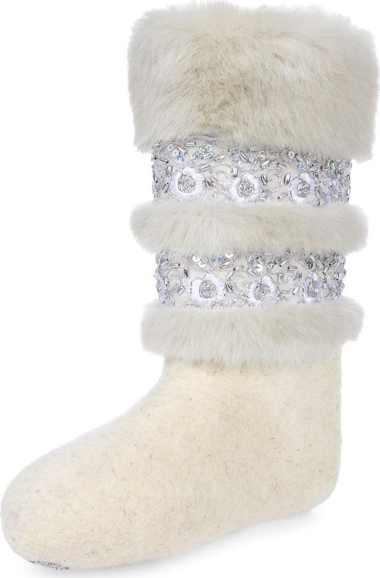 Валенки Кукморские валенки валенки для девочки кукморские валенки цвет белый 220э 113 размер 21 31 32
