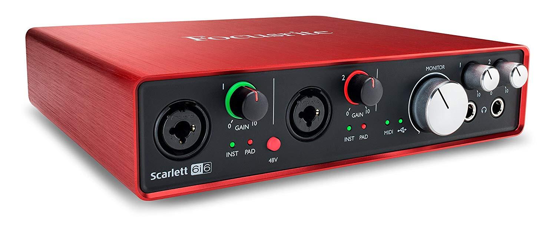 Студийная звуковая карта Focusrite Scarlett6i6 внешняя студийная звуковая карта focusrite red 4pre