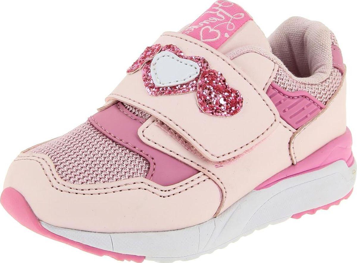 Кроссовки для девочки KENKA, цвет: розовый. QLA_73046-1_pink. Размер 21QLA_73046-1_pink