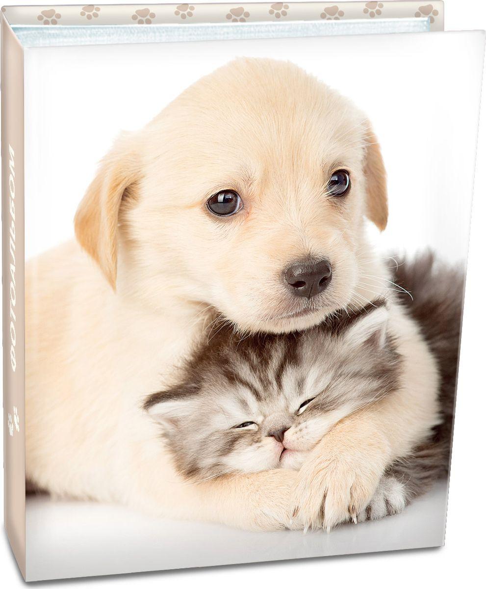 Фотоальбом Pioneer Puppies And Kittens, 64450 LM-4R200, фото 10 х 15 см фотоальбом platinum ландшафт 1 200 фотографий 10 х 15 см цвет зеленый голубой коричневый pp 46200s