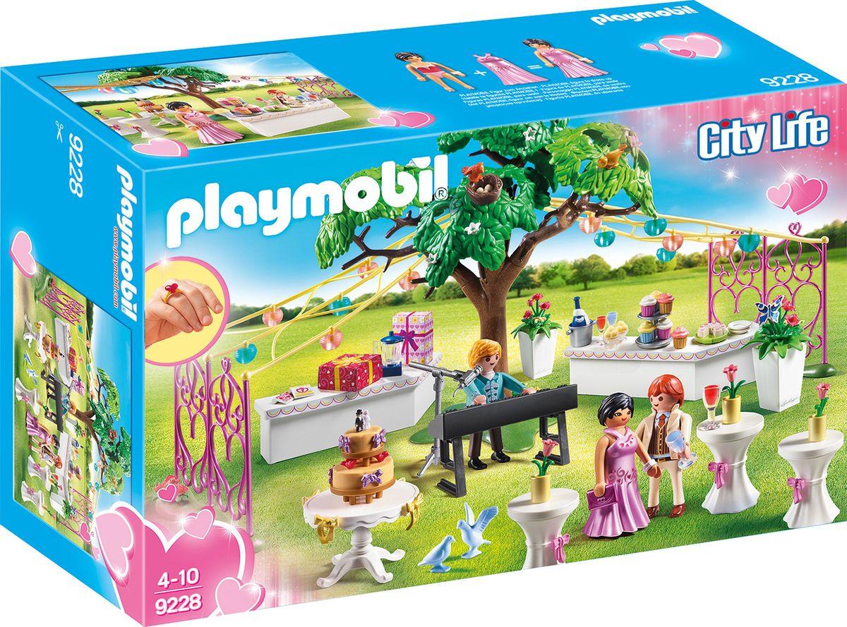 Фото - Пластиковый конструктор Playmobil Кукольный дом Стол для росписи новобрачных, 9228pm playmobil кукольный дом детская комната с люлькой 5304