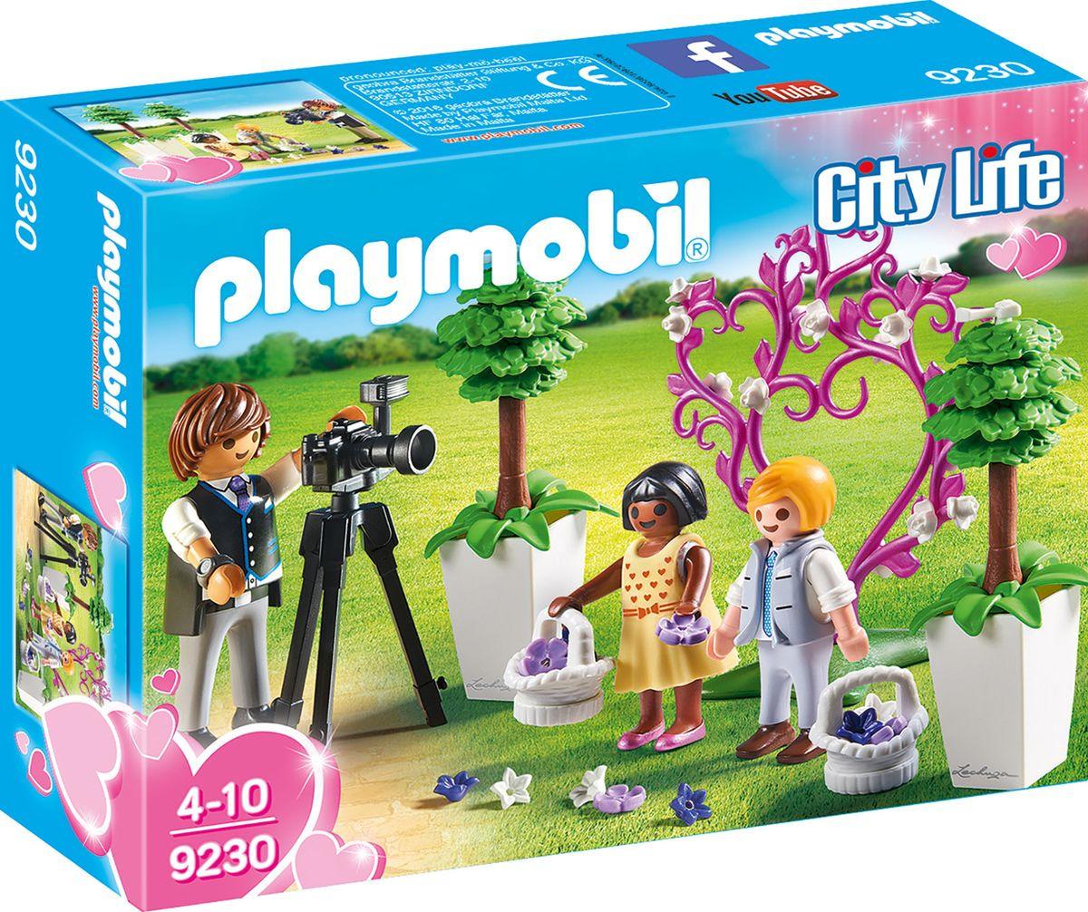 Фото - Пластиковый конструктор Playmobil Кукольный дом Фотограф и дети с цветами, 9230pm playmobil кукольный дом детская комната с люлькой 5304