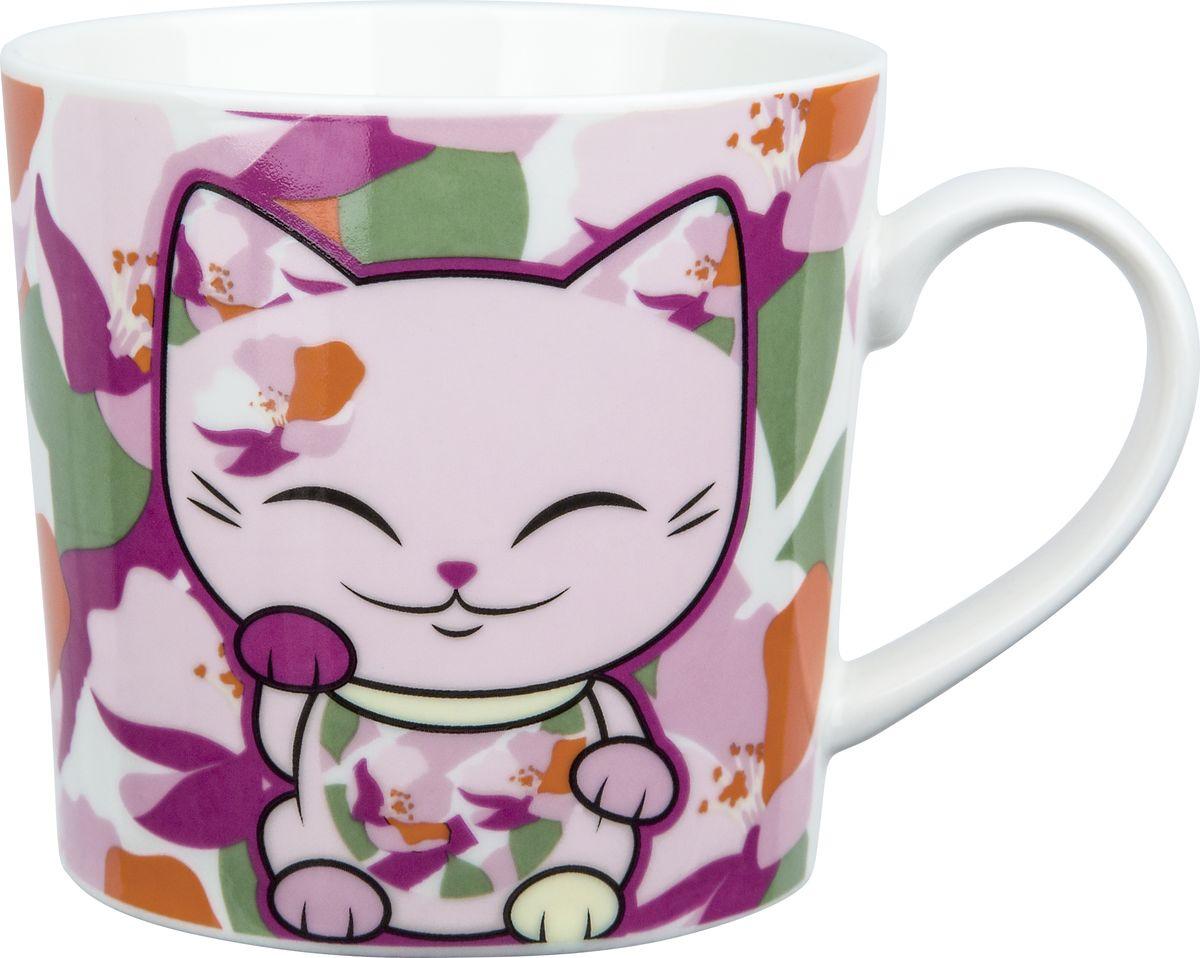 Кружка Mani The Lucky Cat, MH019, розовый, 350 мл кружка ppd lucky piggy 350 мл