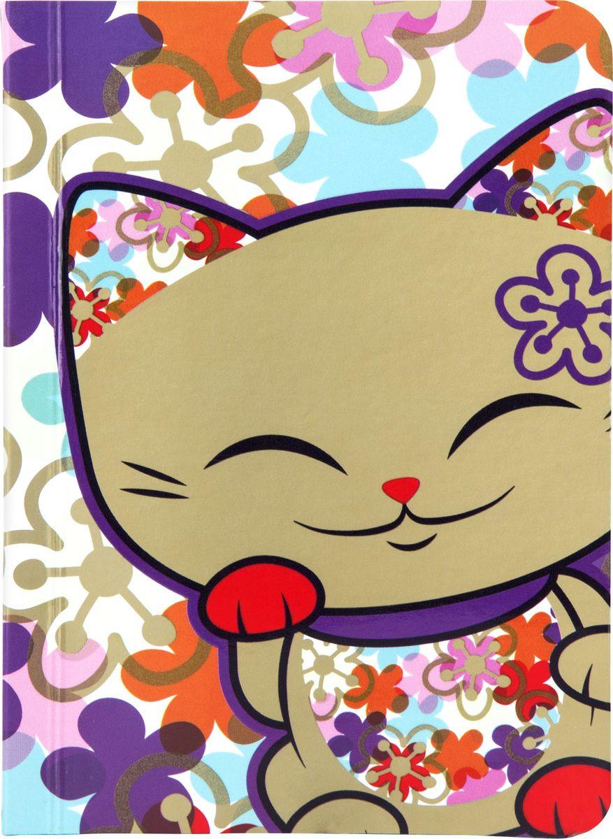Блокнот Mani The Lucky Cat, MS067, разноцветный, 128 листовMS067Забавный карманный блокнот с изображением Кота Удачи, который приносит успех во всем. Надежно сохранит все самые важные записи, мечты, воспоминания. К тому же, блокнот еще и часть твоего имиджа, особенно если он с такой красивой, и привлекающей внимание обложкой!