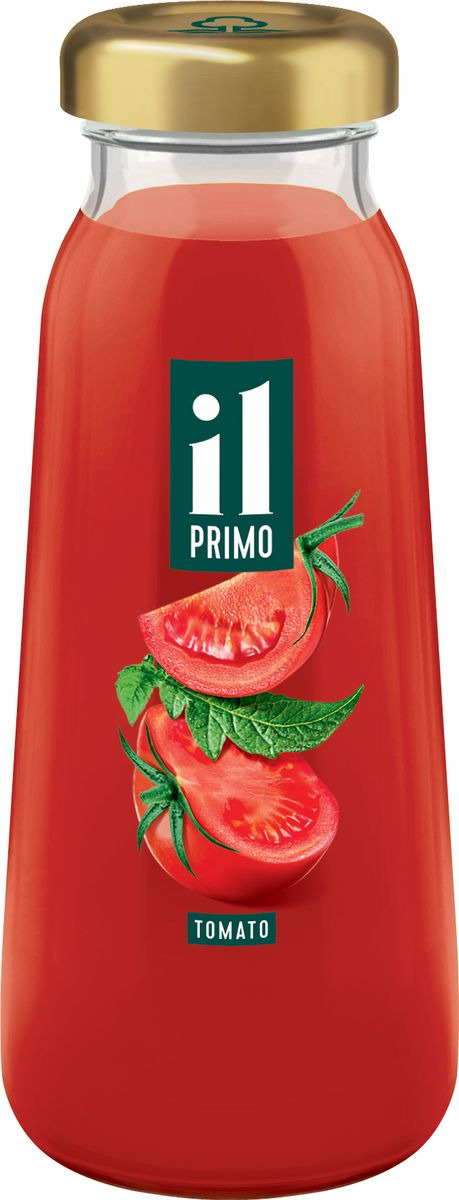 Сок томатный Il Primo восстановленный, с солью, 8 шт по 200 мл сок мультифруктовый il primo восстановленный 8 шт по 200 мл