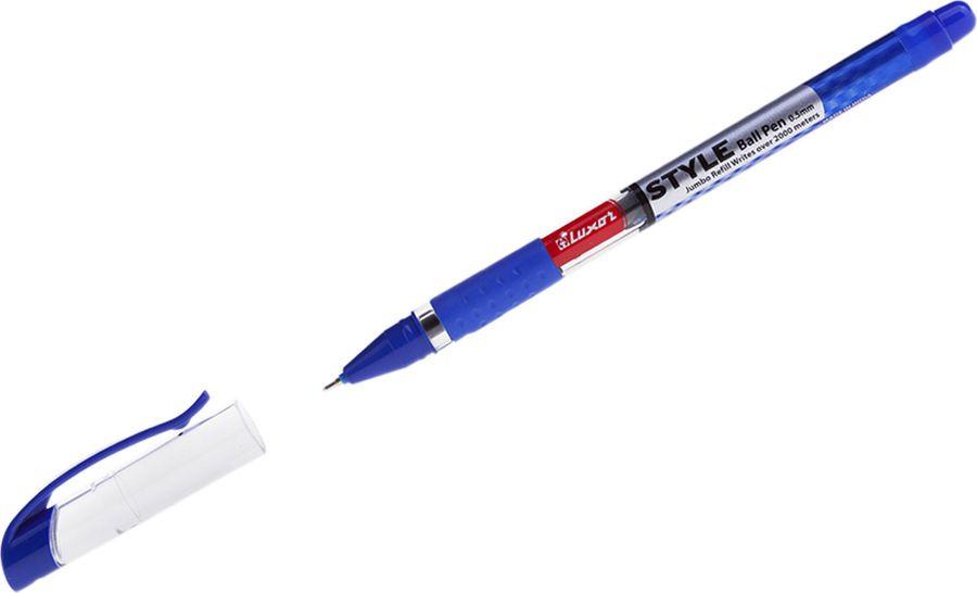 Набор ручек шариковых Luxor Style, 233877, цвет чернил синий, 10 шт набор капиллярных ручек luxor fine writer 045 246642 цвет чернил красный 10 шт