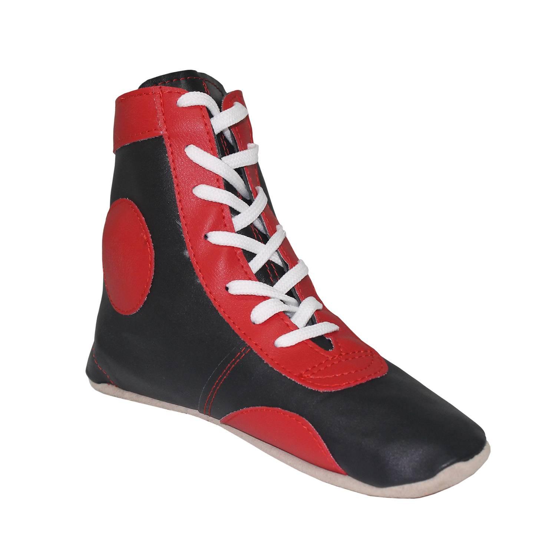 Борцовки Jivi Sport обувь для боевых искусств sambo детская обувь для самбо красные