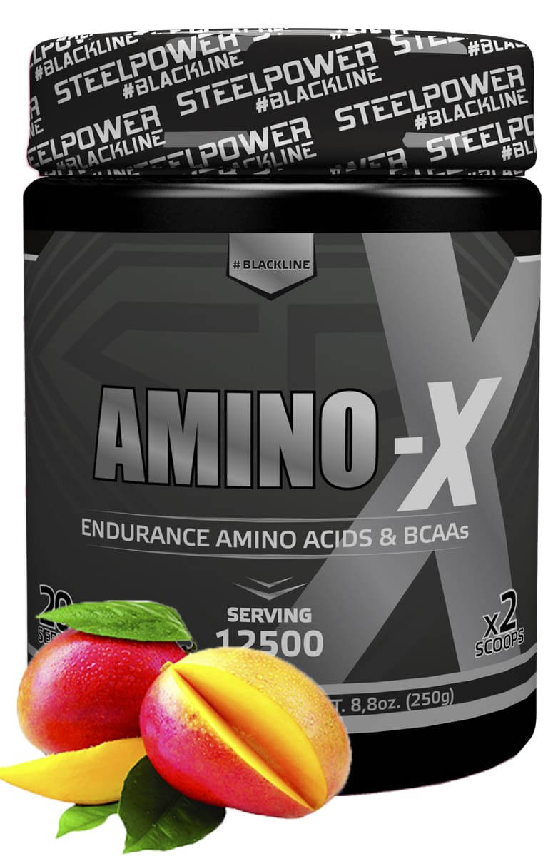 Аминокислотный комплекс SteelPower Nutrition AMINO-X 250 г, вкус Манго amino gold 1500