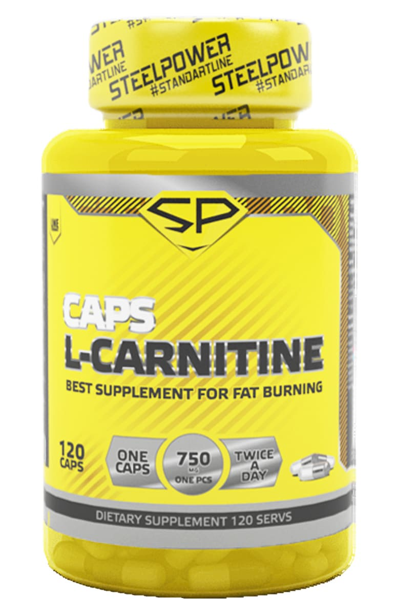 Карнитин (L-карнитин) SteelPower Nutrition L-CARNITINE, 120 капсул