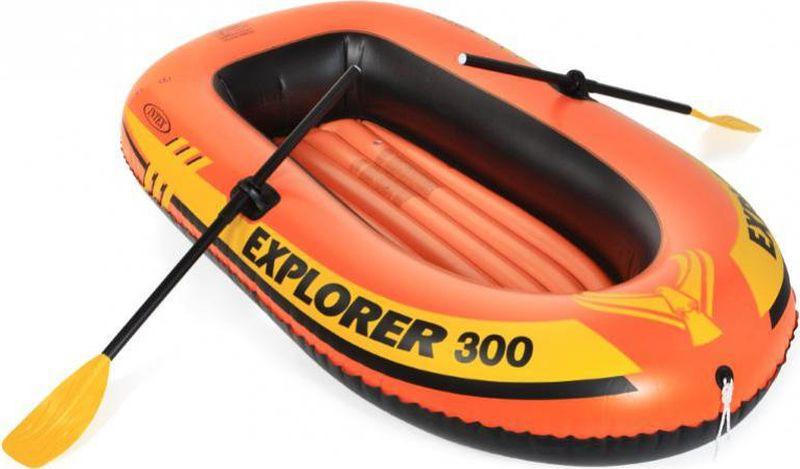 Лодка надувная Intex Челленджер-2, с68367, желтый, 236 х 114 41 см
