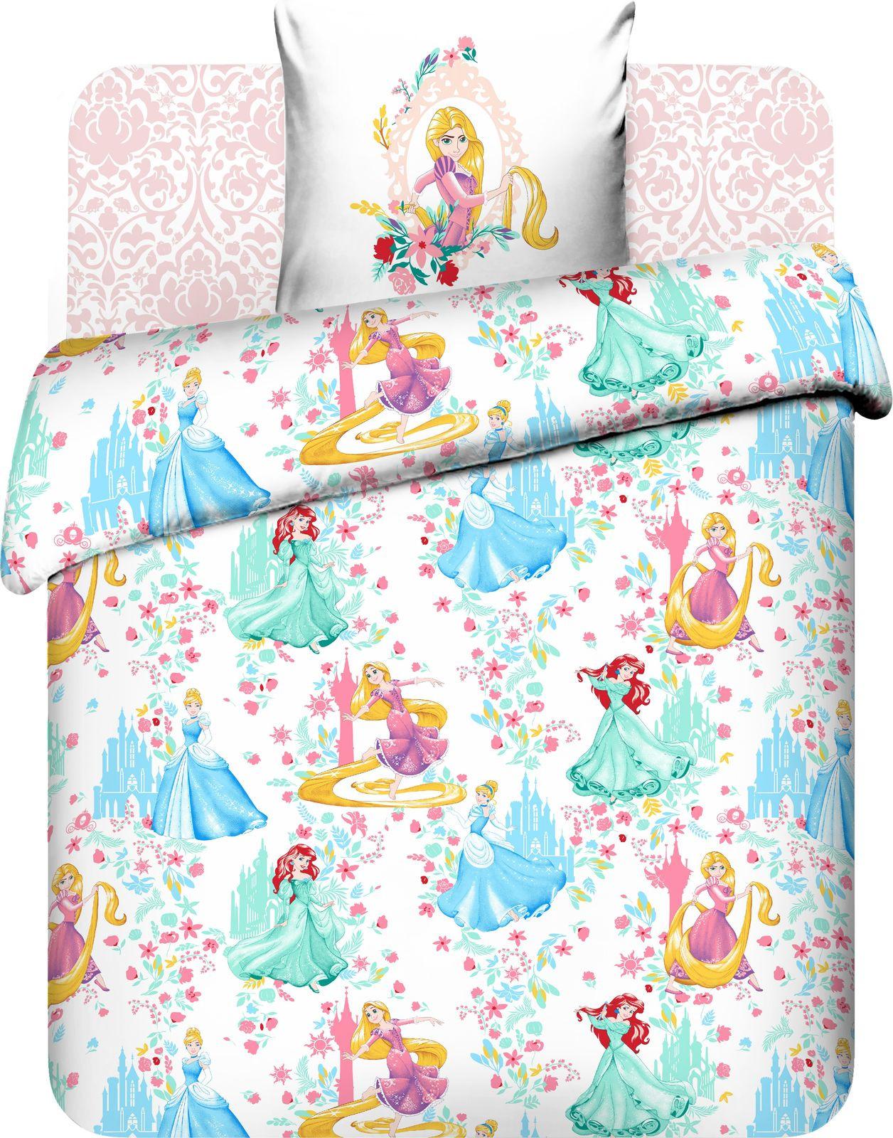 Комплект постельного белья Василек Тинейджер Disney, 188866, 1,5 спальный, наволочки 70x70, розовый комплект белья василек дискавери 1 5 спальный наволочки 70x70 цвет разноцветный 7616 1