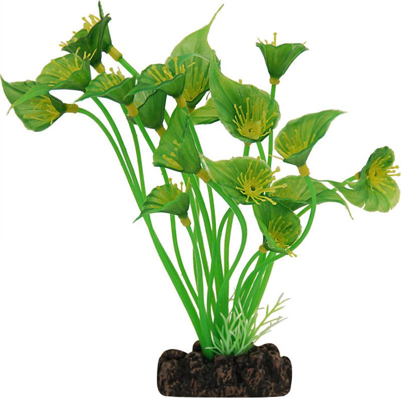Растение для аквариума Laguna Спатифиллум, 20 см аксессуары для аквариумов и террариумов laguna растение для аквариума с распылителем 30см