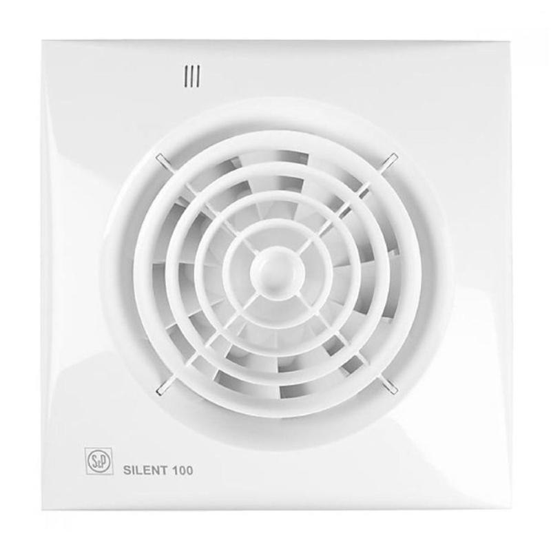 Вентилятор Soler&Palau Silent-100 CHZ датчик влажности, белый silent wire silent socket 38 mk2 6 sockets 1 5m