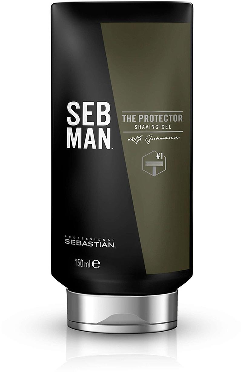 Крем для бритья Seb Man The Protector для всех типов бороды, 150 мл