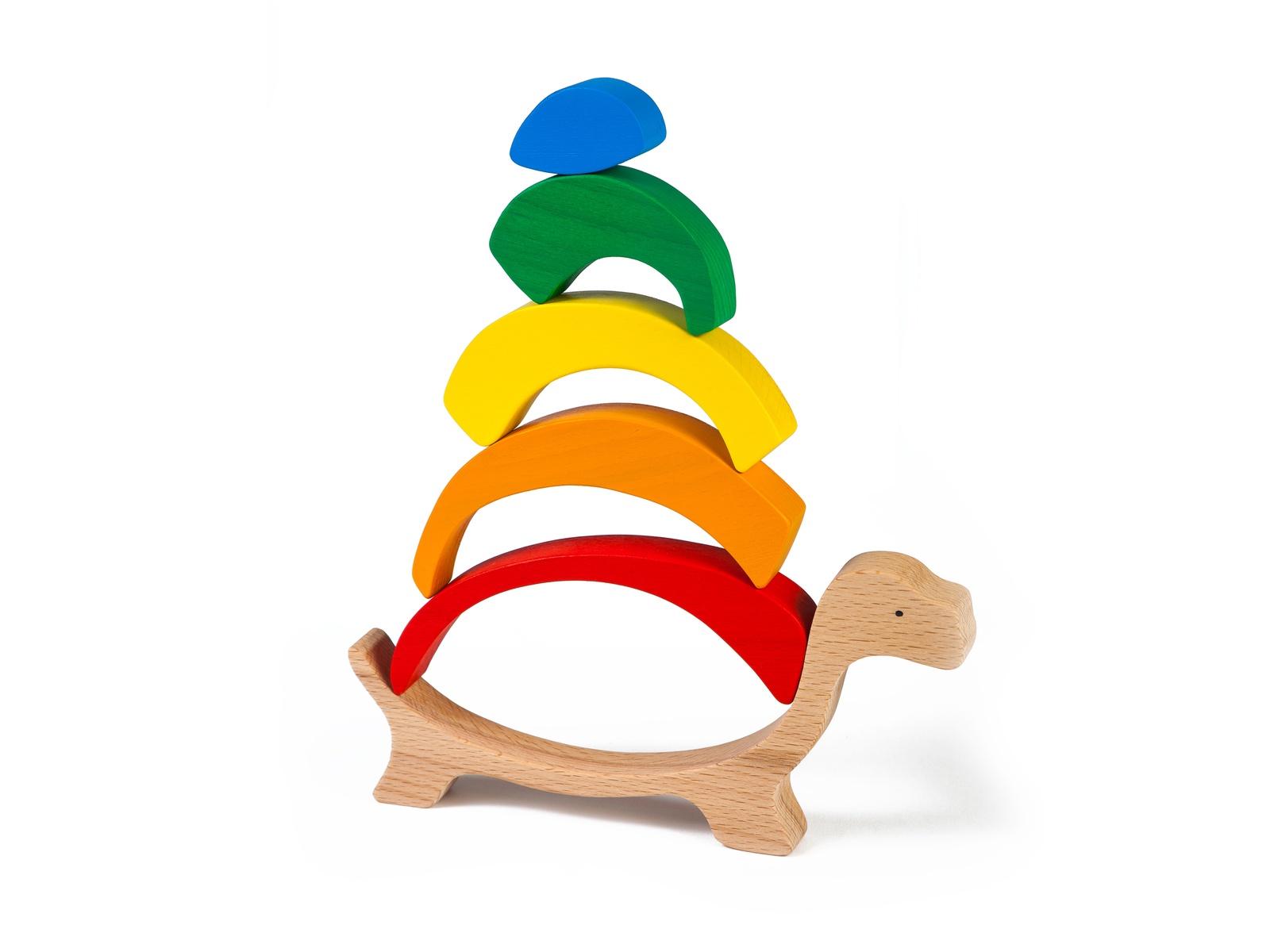 """Развивающая игрушка Волшебное Дерево """"Черепаха"""""""