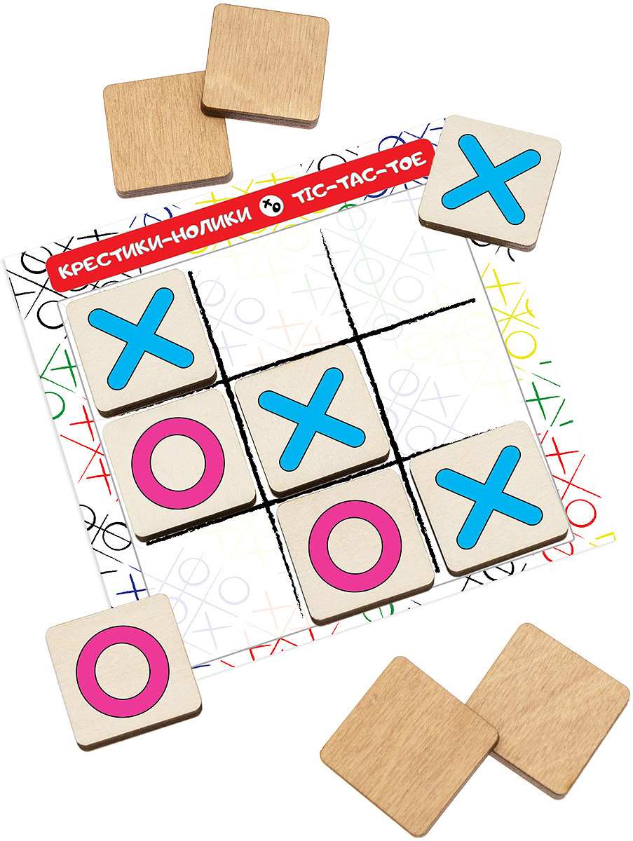 Обучающая игра АНДАНТЕ Крестики-нолики. Классика настольная игра shantou крестики нолики крестики нолики