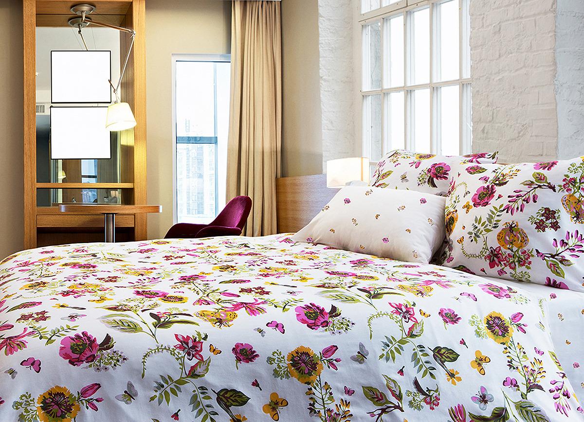 Комплект постельного белья Tiffany's Secret Ожидание лета, 2040816120, евро комплект постельного белья tiffany s secret евро сатин весна n70
