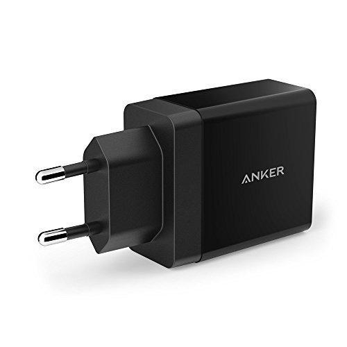 Зарядное устройство ANKER 2 USB 24W на два порта, черный Anker