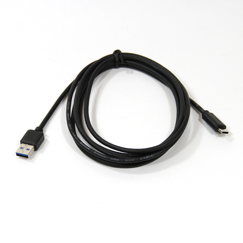 Кабель VCOM USB 3.1 Type-CM → USB 3.0 AM, черный кабель переходник usb am com rs232 db 9 aten uc232a в