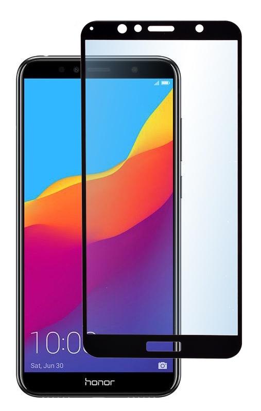 Защитное стекло skinBOX 1 side full screen, черный защитное стекло для экрана redline для huawei nova 3i 1 шт черный [ут000017128]