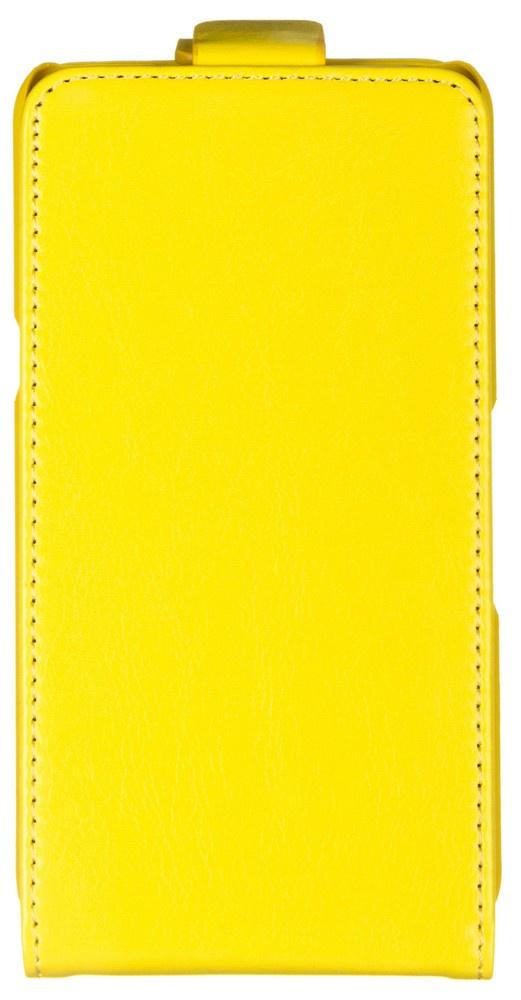 Чехол для сотового телефона skinBOX 4People, желтый чехол защитный skinbox lg magna