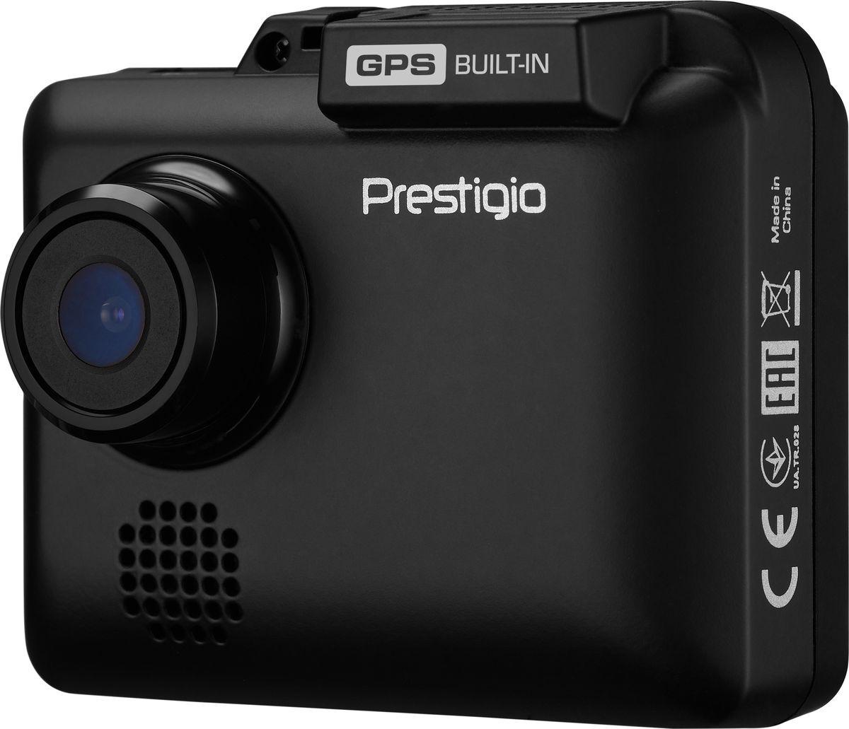 Видеорегистратор Prestigio RoadRunner 410GPS, черный видеорегистратор prestigio roadrunner 525