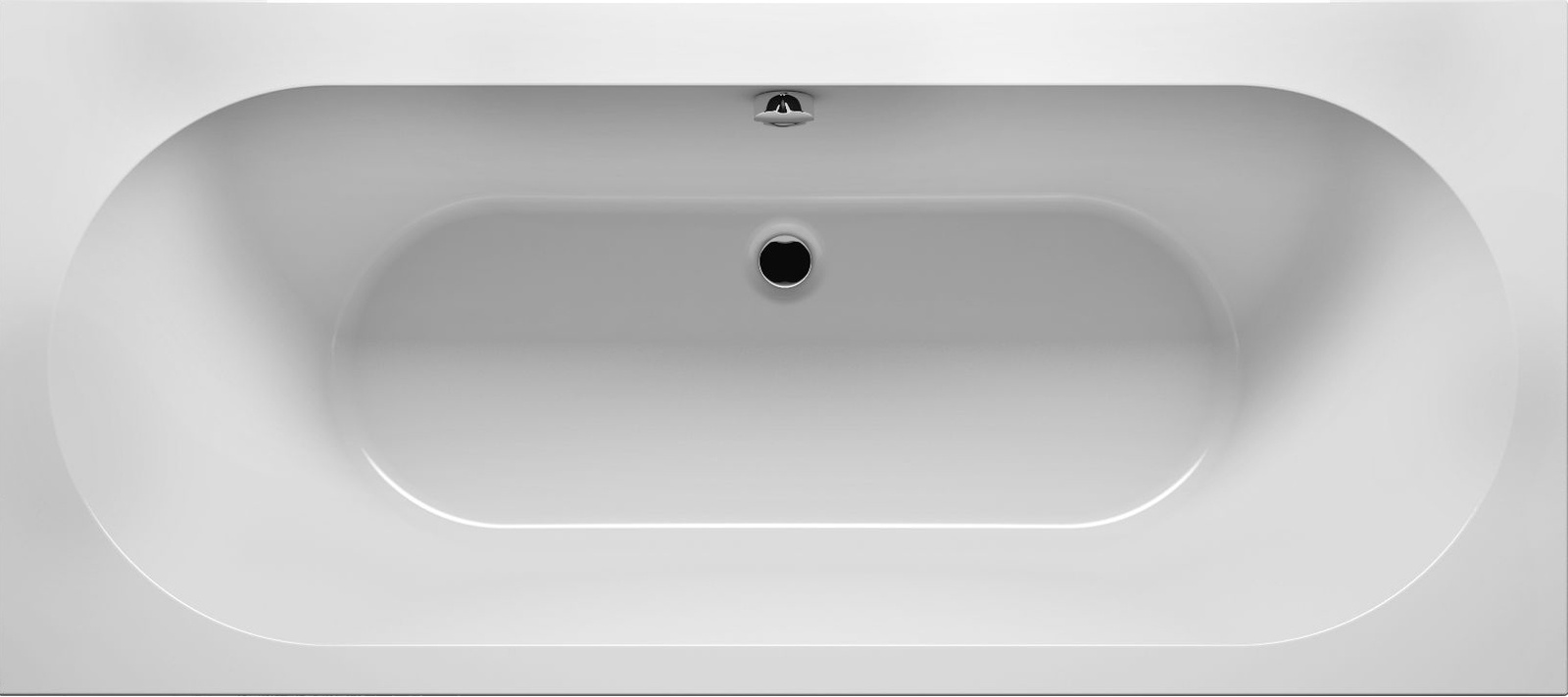 Ванна Riho Carolina 170x80 без гидромассажа с ножками, белый цена 2017