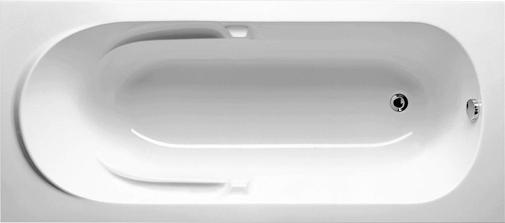 цена на Ванна Riho Future 170x75 без гидромассажа с ножками, белый