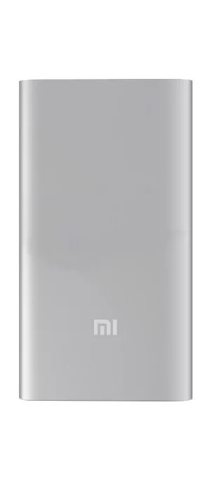 Внешний аккумулятор Xiaomi Mi Power Bank 5000, серебристый