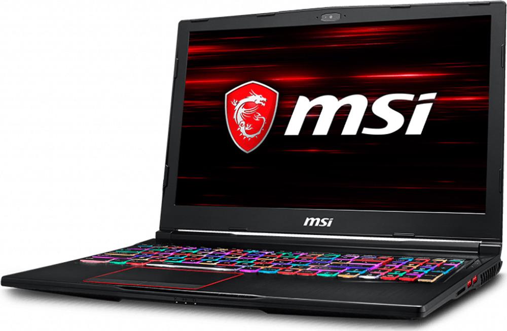 """15.6"""" Игровой ноутбук MSI GE63 Raider RGB 8SF 9S7-16P722-233, черный"""