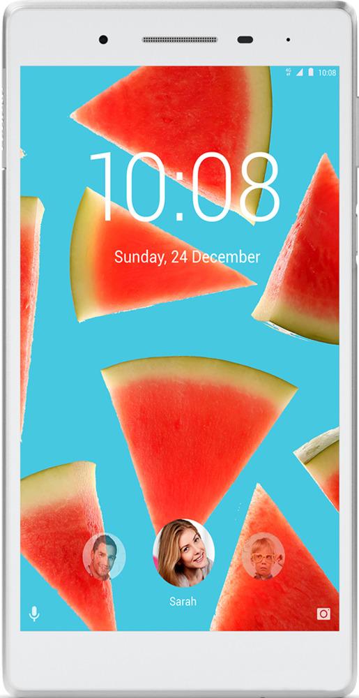 Планшет Lenovo Tab 7 LTE, 16 ГБ, белый