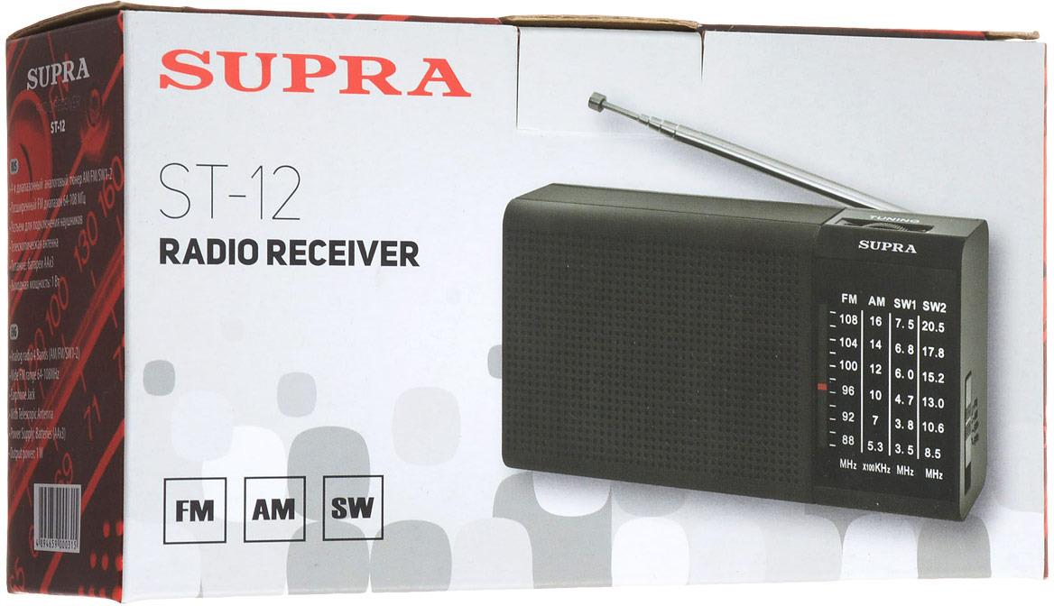 Радиоприемник Supra ST-12