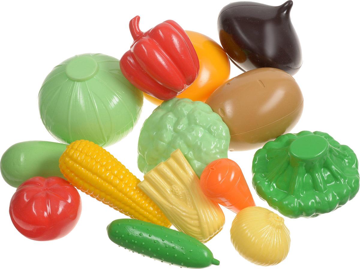 Пластмастер �гровой набор Овощи большой