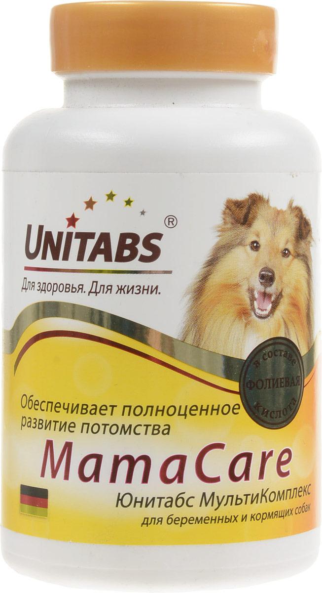 Витамины Unitabs МамаCare, для беременных собак, 100 таблеток витамины для беременных с dha