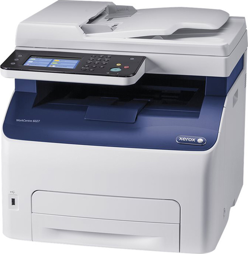МФУ Xerox WorkCentre, 6027V_NI А4, белый