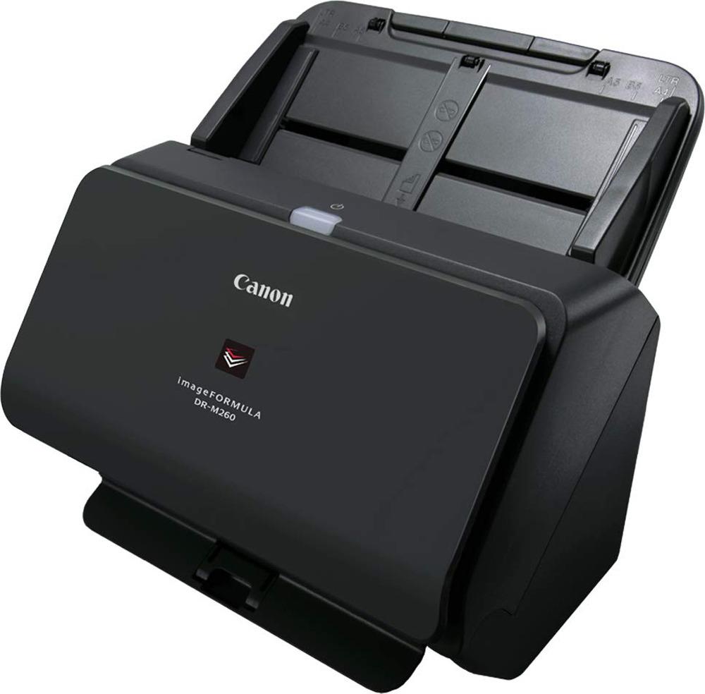 Сканер Canon DR-M260, 2405C003, черный