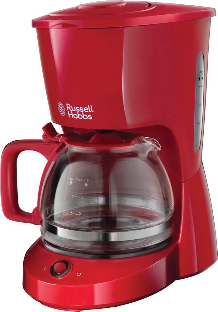 Кофеварка капельная Russell Hobbs Texture, 22611-56, красный