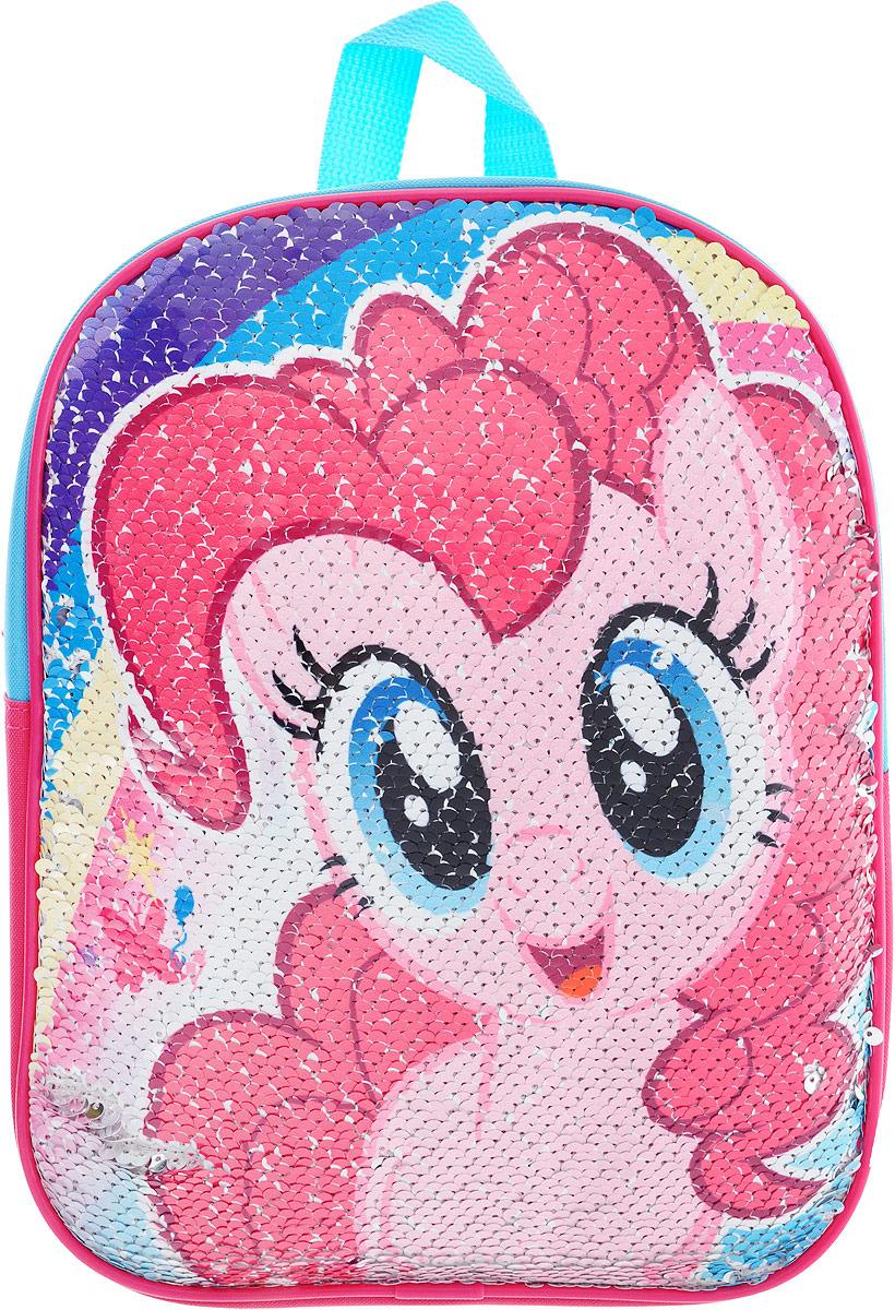 Рюкзак дошкольный My Little Pony, MPGP-UT1-975SQ, серебристый, разноцветный