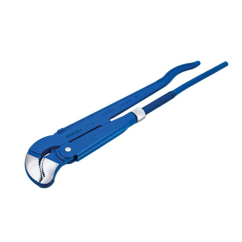 Ключ NORGAU трубный S-образный 2, NPW100 клещи vde norgau n278vde 250 067230025