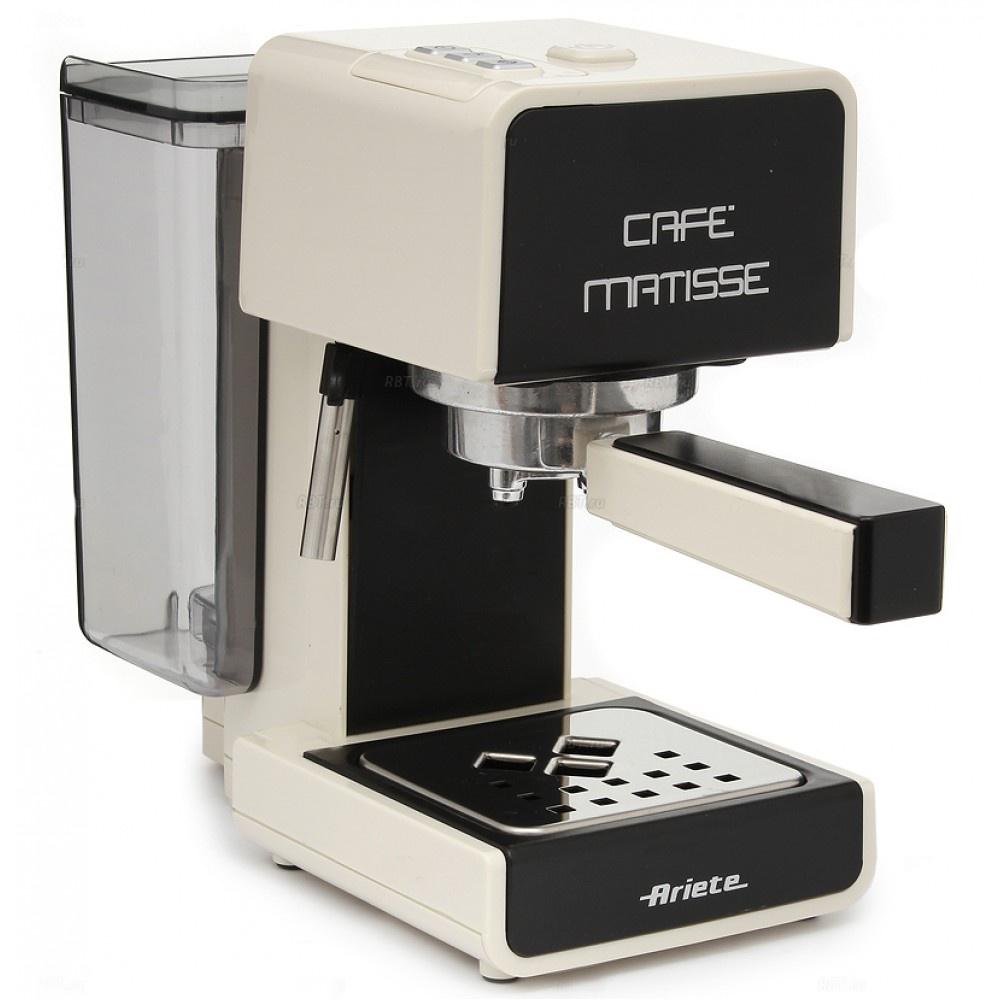 лучшая цена Рожковая кофеварка ARIETE 1363 Matisse, бежевый