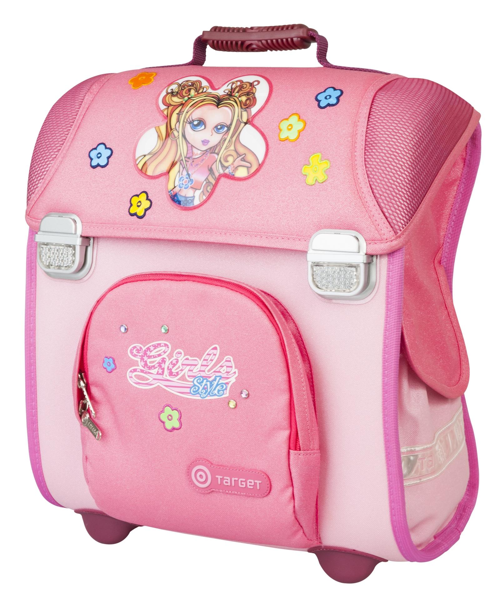 """Ранец школьный Target """"Девочка"""", розовый"""